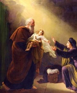 """ElijahByLouisHersent"" by Louis Hersent - http://www.bridgemanartondemand.com/art/144259/Elijah_Resuscitating_the_Son_of_the_Widow_of_Sarepta. Licensed under Public Domain via Commons."